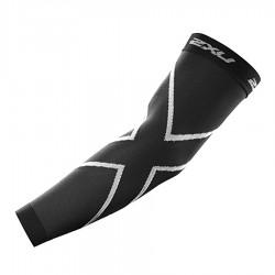 【2XU】高丹數105丹壓縮袖套(黑)