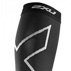 【2XU】高丹數105丹跑步壓縮小腿套(黑色)
