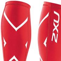 【2XU】經典款70丹機能壓縮小腿套(紅)
