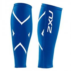 【2XU】經典款70丹機能壓縮小腿套(藍)