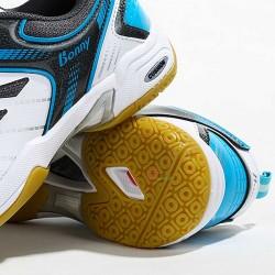 【BONNY】304白淺藍減震舒適專業級平價羽球鞋
