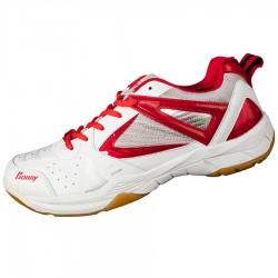 【BONNY】708白紅專業級平價羽球鞋
