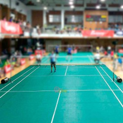 【BONNY】BF-16移動拼貼式比賽級羽球PVC地墊
