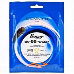 【BONNY】BN-66Power絕佳手感攻擊羽拍線(0.67mm)