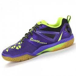 【BONNY】鞋面新科技碳裝甲613P超輕透氣比賽級羽球鞋