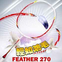 【BONNY】Feather 270輕羽系列6U高磅控球羽球拍