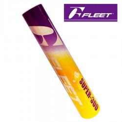 【FLEET】富力特SUPER-300練習級羽毛球(黃色筒)