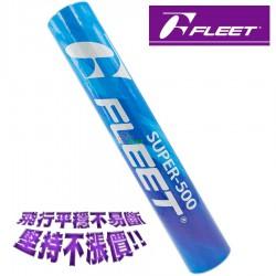 【FLEET】SUPER-500 練習級羽毛球(含稅價)