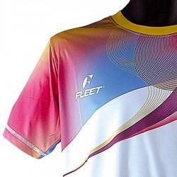 【FLEET】富力特TC-5184紅白超輕科技吸濕排汗圓領朝T