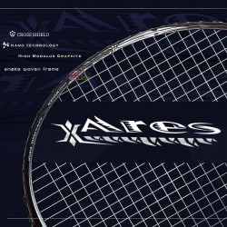 【FLEET】Ares戰神 6.6mm纖細中桿靈敏精準銳利攻擊型羽球拍