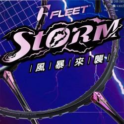 【FLEET】富力特年度巨作STORM風暴 細中管破風框羽球拍