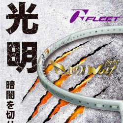 【FLEET】Dark Wolf-light光狼 重殺猛扣強力命中攻擊型羽球拍