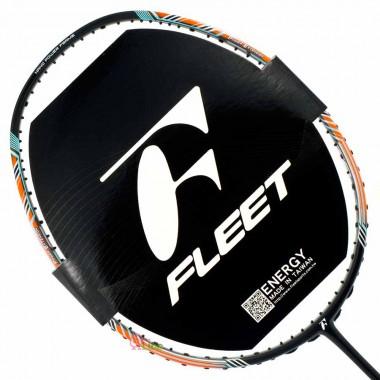 【FLEET】TP100黑橘 超高CP值好上手4U攻擊型羽球拍