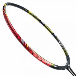 【FLEET】TP200黑紅 斜槓塗裝5U防守型羽球拍