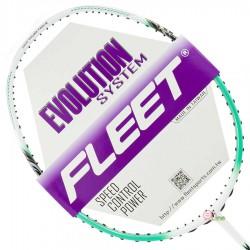 【FLEET】無限INFINITY白綠 超殺CP值4U攻擊型羽球拍