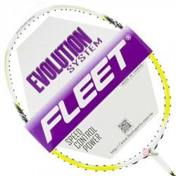 【FLEET】無限INFINITY白黃 超殺CP值4U攻擊型羽球拍