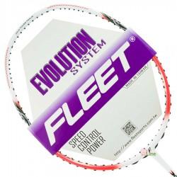 【FLEET】無限INFINITY白粉橘 超殺CP值5U防守型羽球拍