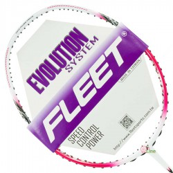 【FLEET】無限INFINITY白桃紅 超殺CP值5U防守型羽球拍