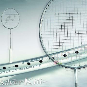 【FLEET】SilverKill銀殺手 輕巧靈活疾速連貫5U羽球拍