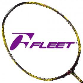 【FLEET】富力特WOVEN1000VI六代 攻守全面完美平衡選手指定羽球拍