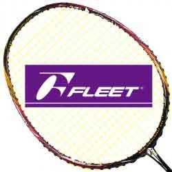 【FLEET】富力特ASSASSIN刺客完全破風塗鴉風格瞬間發力羽球拍