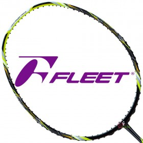 【FLEET】富力特ENDLESS無盡系列超殺CP值5U螢黃全能型羽球拍
