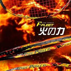 【FLEET】富力特火焰FIRE POWER速度及力量展現於瞬間4U羽球拍