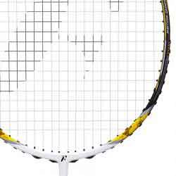 【FLEET】富力特LINK-501破風拍框迷彩黃4U穿線羽球拍