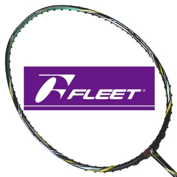 【FLEET】PROFESSIONAL-3000VII七代 低風阻超順手全功能型羽球拍