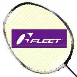 【FLEET】富力特SWIFT BURST超輕5U迅速爆裂全面提升手感羽球拍(黑白郎君)