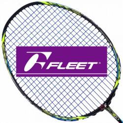 【FLEET】富力特WOVEN-1000V五代超低風阻瞬間爆發力羽球拍