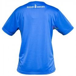 【GOSEN】GT-9601中藍迷彩 クールプラス機能纖維中性排汗T