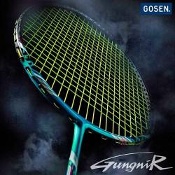【GOSEN】GUNGNIR 08S永恆之槍 變異框型三軸碳纖4U5羽球拍