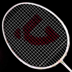 【JNICE】久奈司AIR73『輕羽刃』絕美雪白73g超輕破風攻擊羽球拍