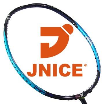 【JNICE】久奈司FORCE 7000夜斧4U耐30磅中管偏硬攻擊羽球拍