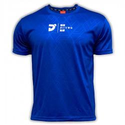 【JNICE】久奈司JT-771-BL品牌小logo極度觸感羽球排汗衫