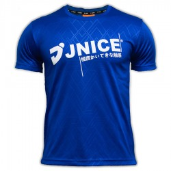 【JNICE】久奈司JT-7712-BL品牌大logo極度觸感羽球排汗衫