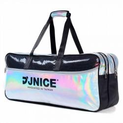 【JNICE】BAG-011SV❤炫彩矩形包❤側背後背手提閃亮登場