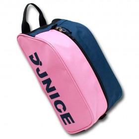 【JNICE】BAG-992粉紅粉綠 果凍雙色鞋袋