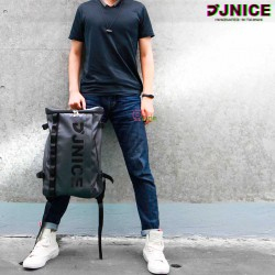 【JNICE】BAG-961 城市街頭方形盒子防水後背包