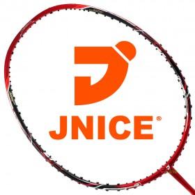 【JNICE】ELASTIC FORCE夜斧8000 頂級40T碳纖大甜區薄拍框4U羽球拍