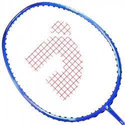 【JNICE】Ultra Aero鋒速10藍 破風拍框低風阻4U輕量穿線羽球拍