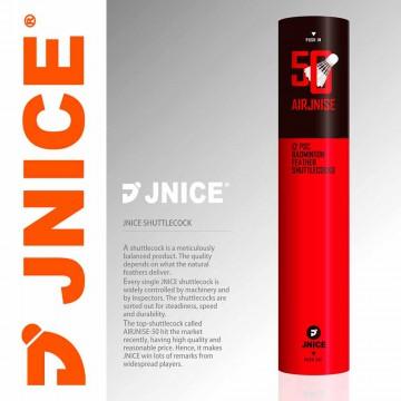 【JNICE】久奈司AIRJNISE-50國際比賽級羽毛球(含稅價)