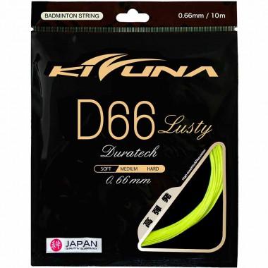 【KIZUNA】D66 Lusty 金牌66渾身是勁攻擊羽拍線(0.66mm)
