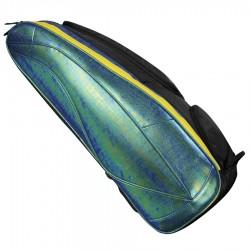 【LI-NING】李寧ABJM122-3二合一專業六支裝金屬綠羽球拍包