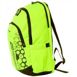【LI-NING】ABJN014-4螢綠幾何圖案多功能後背包