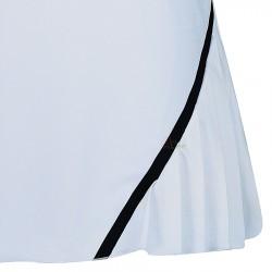 【LI-NING】李寧ASKN022-3白排汗透氣專業羽球褲裙