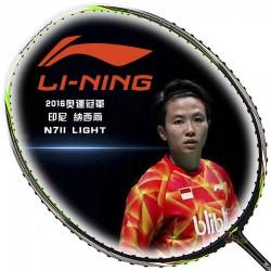【LI-NING】李寧TC-N7II-Light黑綠Natsir納西爾奧運冠軍指定羽球拍