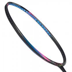 【LI-NING】TC9II-TF黑藍3U細中管頭偏重攻擊羽球拍