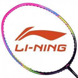 【LI-NING】WS-72粉紫超輕6U超高磅30磅攻擊羽球拍